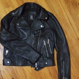 Zara Leather Jacket🔥